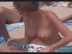 Beach Boobs on Costa Blanca