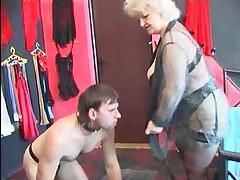 Fat Granny Foot Worship