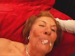 Horny GILF Double Teamed and Creamed