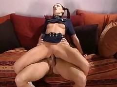 German Skinny anal