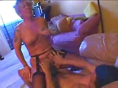 Horny German Mature Fucked By Young Guy