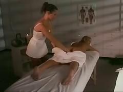 Terri Summers in lesbo massage