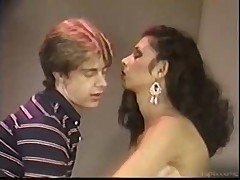 Dana Douglas no condom 80's vid of course