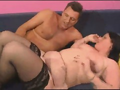 PERVERT GERMAN DAD FACIALIZED HIS HORNY BBW DAUGTHER - 1