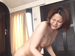 Horny Japanese Wives Massaged and in good shape Fucked at Home 5 - CM
