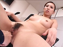 Asian Reporter fucked (TIME-STOP machine)
