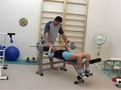 Zuzana Zeleznovova-Sex in The Gym (Gr-2)