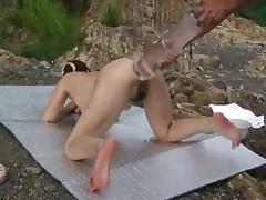 Секс с дорожным  конусом