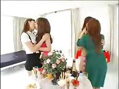 Asian Girls Kissing