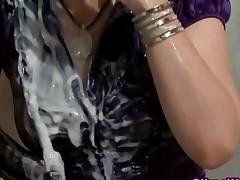 Watch Gloryhole Give Bukkake To Slut