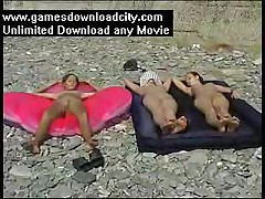 Eurobeach Nudist 3 Girls