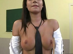 Schoolgirl Getting Painfully Punished