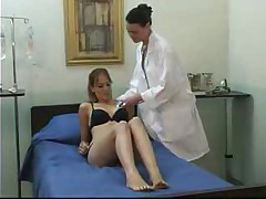 Young Girl And Mature Lesbian Doctor