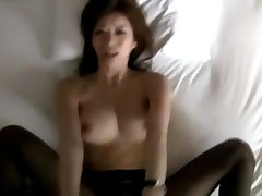 Busty Office Lady Hole On Pantyhose Giving Blowjob Fucked..