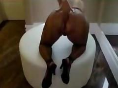 Bisexual Milf Masturbates In Nylon Stockings