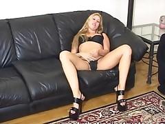 Blonde Masturbation Teacher In Bikini Spreads And Demos..