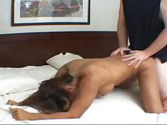 Brazillian Angela gets fucked hard