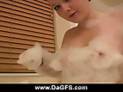 Meaghan Private Bubble Bath Show