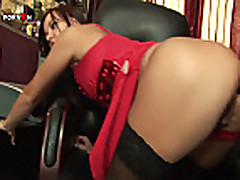 Anal Fucking and Anal Fisting Office Sex with Alysa