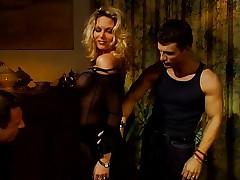 Super hot MILF Anna Nova and two guys