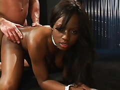 Babe gets it in her ass