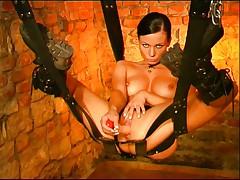 Hot fetish babe in dungeon 2