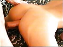 Blonde's ass makes him cum