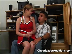 Cheerleader aspirant applies for Membership