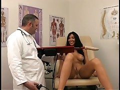 Sexy Centerfold Diana Gets Pleasure Treatment