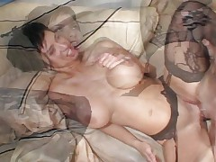 MILF stockings lingerie hot fuck