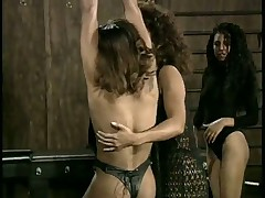 Poor Black Slave Tortured By Dominatrix