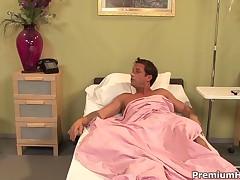 Puma Swede - Big Tits Nurse Puma Swede Giving Some Very Special Hardcore Threatment