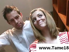 Kasey Chase - Tied And Gagged Up Teen Slave Gets Punished