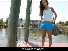 TeamSkeet Fresh New Petite Skinny Small Teen Compilation