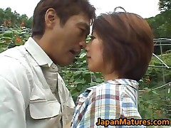Chisato Shouda - Chisato Shouda Asian Mature Chick Gets Pussy Licked 3 By JapanMatures