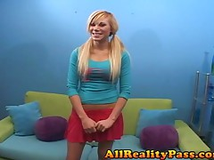 Sascha Sin - Casting Couch Teens - Blonde Teens Meaty Pussy Gets Creamed