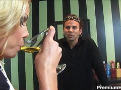 Nicole Sheridan - Lonely Sexy Milf Nicole Sheridan Getting Drunk And Seducing Young Cock
