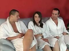 Russian Amateur Girl Gets DP