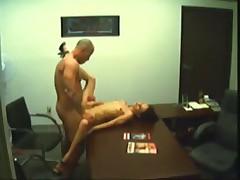 Boss Fucks Secretary On Hidden Camera