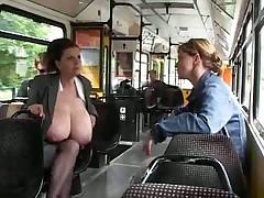Big tits milking