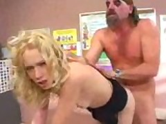 Brandy Starz fucks crazy biker clown
