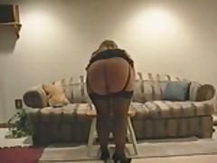 Sweet Ass MILF Buries Dildo