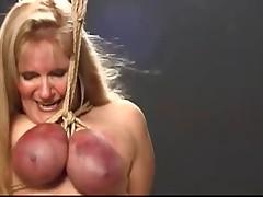Rough Breast Bondage and Lactation