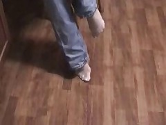 Baby Oil Foot Job