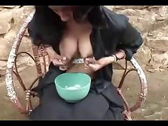 Big Lactating Tits Milked - Huge Nipples!!!
