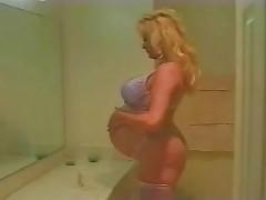 8 months preggo girl get anal