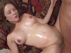 Young pregnant fucked by 2