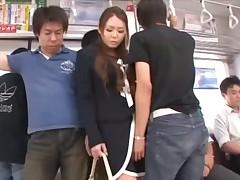 China Mimura on a Train -=fd1965=-