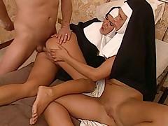 2 hot Nuns
