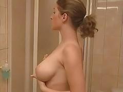 Sauna Sex Huge Breasted Lady